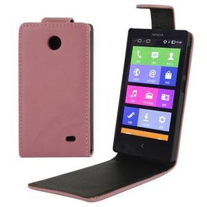 Caballo Vertical Cuero Para Nokia