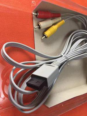 Cable Nintendo Wii Original, Audio Y Video. 1,8 M,