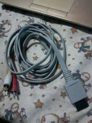 Cable Rca De Audio Y Video Para Wii Original
