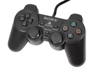 Control Sony Playstation Ps2 Dualshock Alambrico En Blister