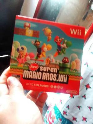 Disco De Juego Original Super Mario Bros Para Wii