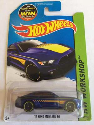 Hot Wheels 15 Ford Mustang Gt