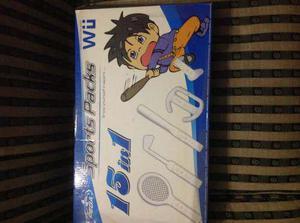Kit De Deporte Para Wii 15 En 1
