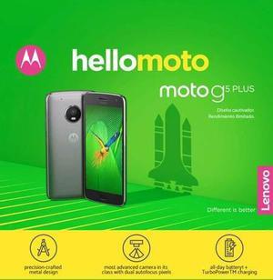 Motorola G5 Plus 3gb Ram 32 Gb Memoria Interna