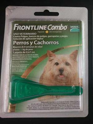 Pipetas Frontline Para Perros Hasta 10 Kg
