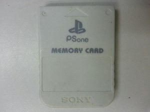 Se Vende Memory Card Para Play Station 1 Original Sony