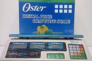 Balanza Peso Electrónico Oster Digital 40 Kg Incluye