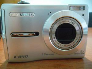 Camara Digital Olympus X- Mp, 5x, Memoria 1gb Y Forro