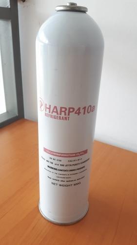Gas Refrigerante 410 Lata 600 Gramos Marca Harp