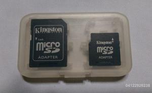 Kit De 2 Adaptadores Kingston Para Memoria Micro Sd