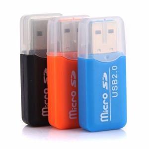 Lector De Memoria Microsd A Usb 2.0 Compatible W