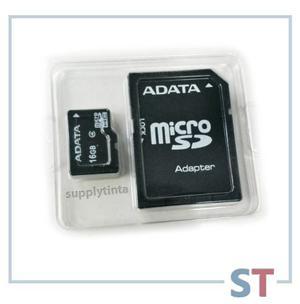 Memoria Micro Sd 16gb   Adata   C/adaptador