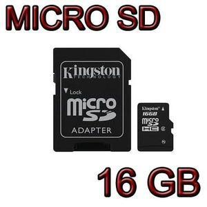 Memoria Micro Sd 16gb Original 100% Kingston