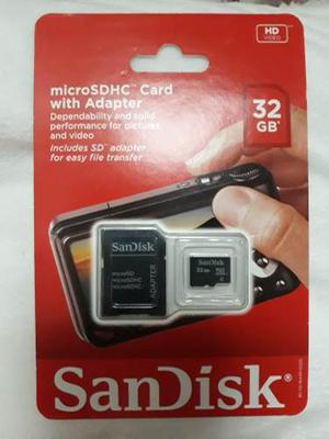 Memoria Micro Sd 32 Gb C4 Scandisk