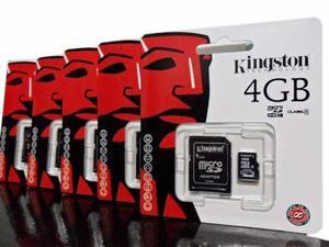 Memoria Micro Sd 4gb Kinston Nueva