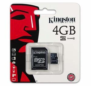 Memoria Micro Sd De 4gb Kingston