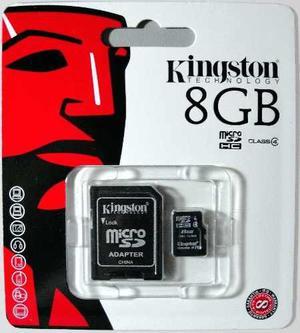 Memoria Micro Sd De 8gb Kingston 100% Original
