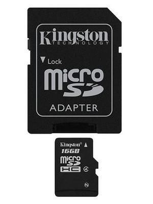 Memoria Micro Sd Hc 16gb Kingston Clase 10..precio De Regalo