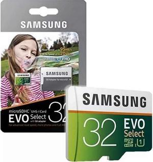 Memoria Microsd 32gb Samsung Evo Micro Sd 32gb 95mb/s