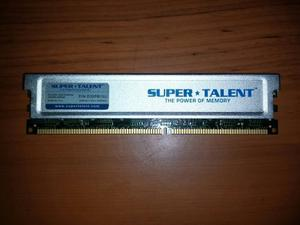 Memoria Ram Pc Ddr400 Super Talent 1 Gb Con Disipador Oferta