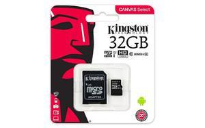 Micro Sd 32 Gb Kingston Canvas Select Class 10 Original