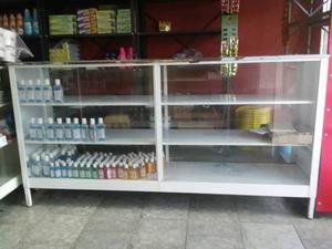 Mostrador Ferretero Tope De Goma, 2 Metros De Largo