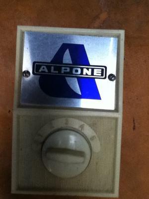 Regulador De Ventilador De Techo Alpone Original Nuevo
