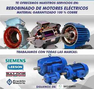 Reparacion Y Rebobinado Motores Electricos - Bombas De Agua