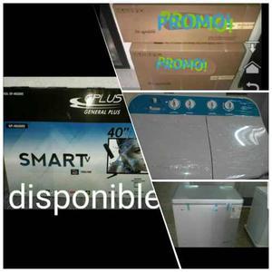 Smart Tv 32 Y 40 Lavadoras 7kg, Perco De 170 Lts Y Aires12