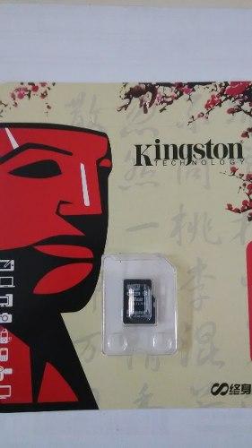 Tarjeta De Memoria Micro Sd 8gb Kingston Techonology