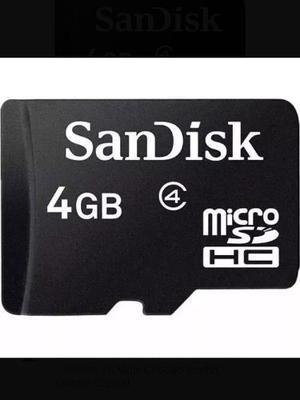 Tarjeta De Memoria Micro Sd De 4gb