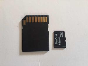 Tarjeta De Memoria Sd 64 Gb