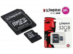 Tarjeta Memoria Micro Sd Kingston 32gb Ultra Hd100% Original