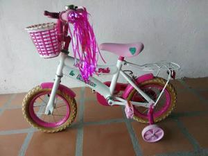 Bicicleta Barbie Rin 12 De Niña