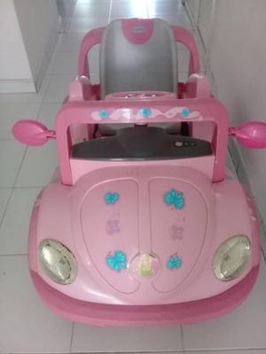 Carro Electrico De Niña Con Control Remoto