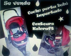 Coche Portabebe Triciclo Contours Kolcraft