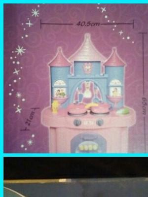 Cocina Castillo Para Niñas Con Luces Y Sonidos. Incluye