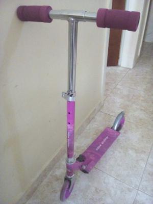 Mono Patin Scooter Para Niña Como Nuevo