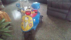 Moto Electrica Para Niña/nino. Bateria Y Cargador