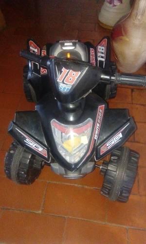 Moto Para Niños Con Batería Sin Cargador