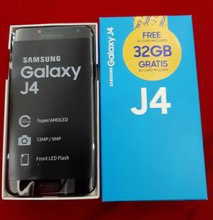 Samsung Galaxy J4 32gb Con Memoria De Regalo+vidrio Templado