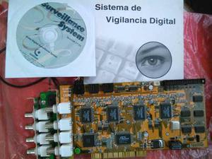 Tarjeta De Video Para Vigilancia Geovision Gv Camaras