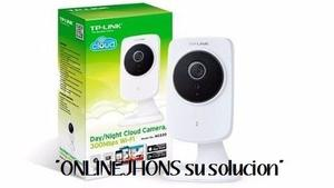 Camara Ip Tp-link Hd Dia/noche 300mbps Wi-fi Nc250