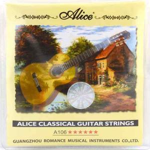 Cuerdas De Nailon Para Guitarra Acustica O Clasica