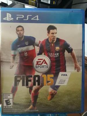 Fifa 15 Juego Ps4 Playstation 4 Usado