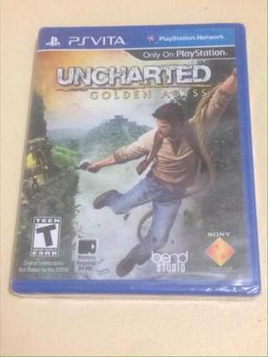 Uncharted Golden Abyss Psvita Nuevo