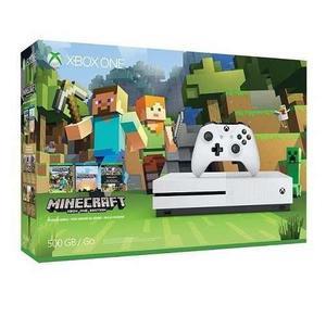 Xbox One S 500 Gb Minecraft Impecable Excelente Estado