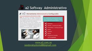 A2 Softway Herramienta Administrativa Configurable + A2 Cash
