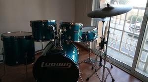 Batería Acústica Ludwig Original + Set De Platillos
