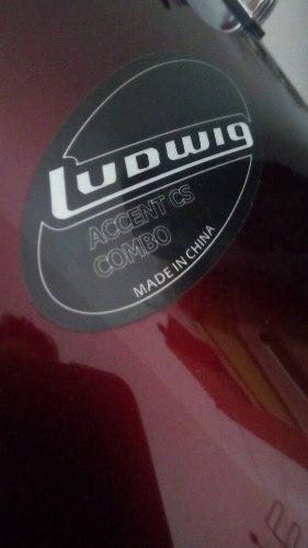 Bateria Acustica Ludwig Accent Cs Combo